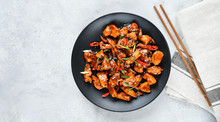 Spicy Chicken In Sweet And Sou...