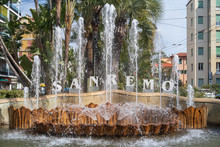 San Remo Welcome Sign Public F...