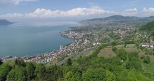 Lavaux Highway Wiev From Glion...