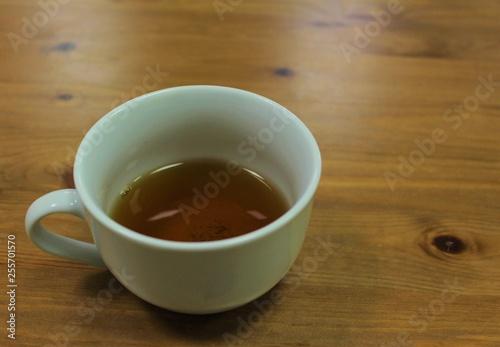 Foto op Plexiglas Chocolade cup of tea