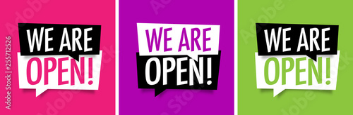 Photo  We are open !