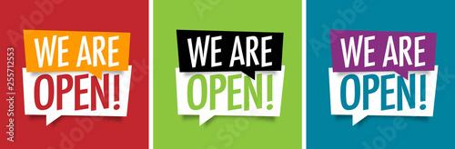 Fotografia We are open !