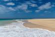calm waves on the beach