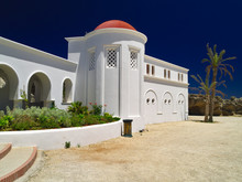 Rhodes Island, Kalithea Springs Or Kalithea Therme With Spa Known From Ancient Times To Have Therapeutic Properties.