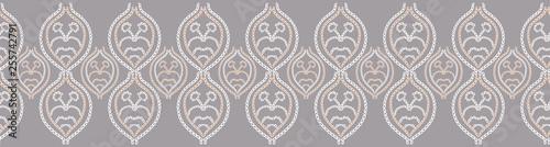 Fotografía  Embroidery needlework damask