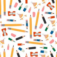 Various Pencils, Eraser, Sharp...