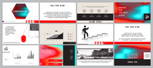 Presentation Template. Red And...