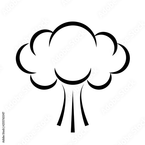 Puff smoke. Cloud icon buy this