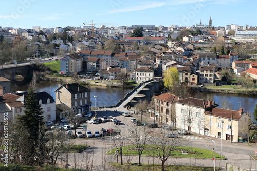 Fotografie, Obraz  Vue sur Limoges