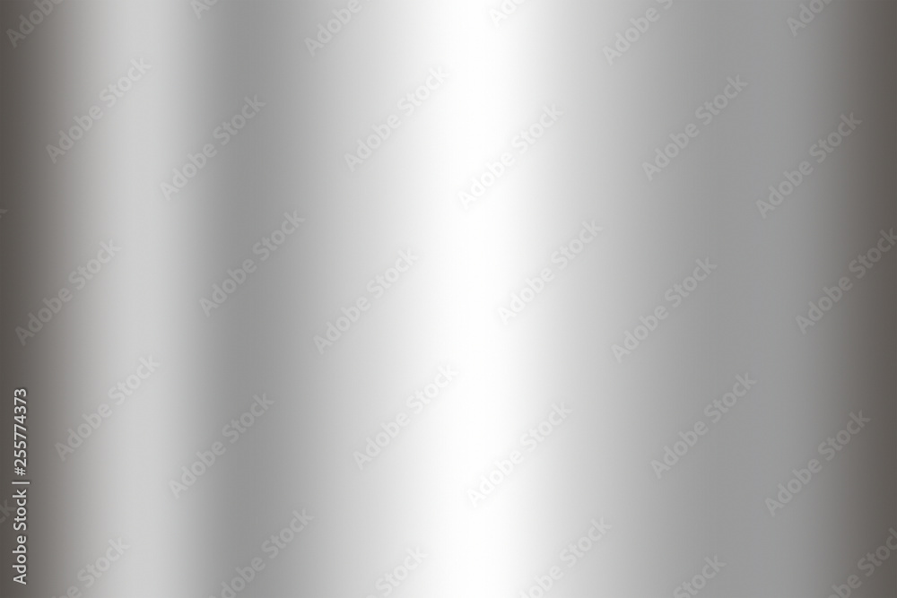 Fototapety, obrazy: Stainless steel texture background. Shiny surface of metal sheet.