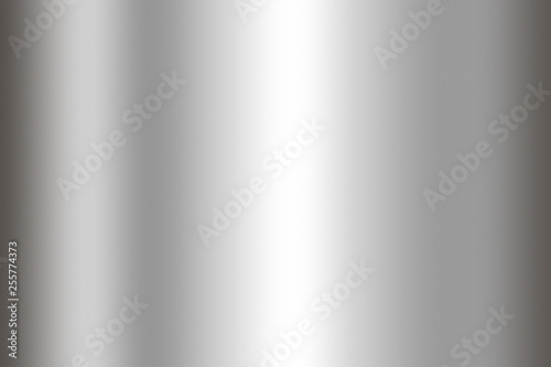 Poster Metal Stainless steel texture background. Shiny surface of metal sheet.
