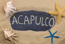 Handwritten Word ACAPULCO Writ...