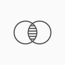 Merge Icon, Combine Vector