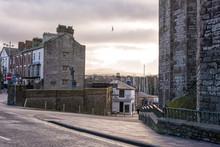 Caernarfon View - Gwynedd Wales