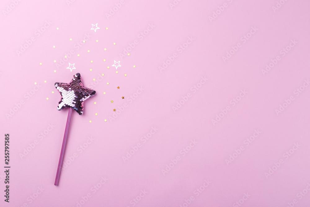 Fototapety, obrazy: Sparkling magic wand