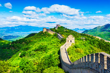 The Great Wall Of China. Badal...