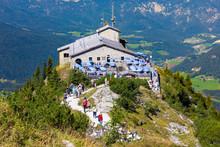 The Kehlsteinhaus (Eagle's Nest), Kehlstein, Obersalzberg, Berchtesgaden, Germany