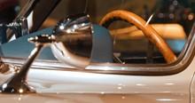 Cabin Of A Sports Car Mercedes...