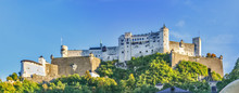Beautiful View Of Salzburg Hoh...