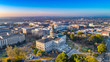 canvas print picture - Downtown Columbia South Carolina Skyline SC Aerial