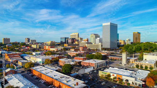 Fototapeta Downtown Columbia, South Carolina, USA Skyline Panorama obraz