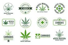 Cannabis Label. Medical Mariju...