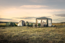 Camping Site Camping Tents On ...