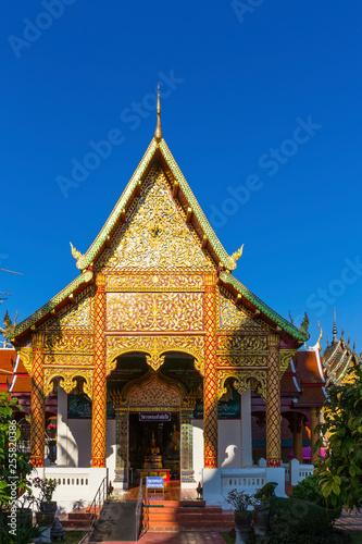 Foto  Chiang Main, Tempel Chiang Mai, Tempel Wat Phra That Haripunchai Woramahawihan