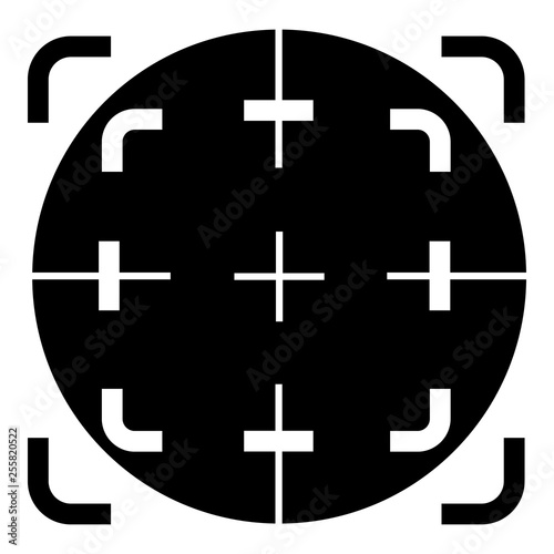 Fotografía  Scope crosshair icon