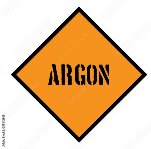 Photo argon sign