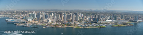 Photo  San Diego Bayfront Panorama