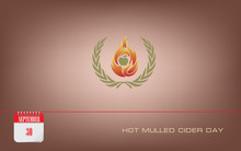 Postcard Hot Mulled Cider Day