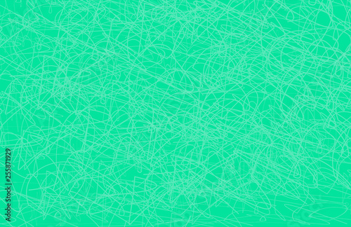 Fototapety, obrazy: Colorful Scribble Lines Background Tabloid