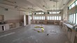Abandoned School - Destroyed Classroom 06