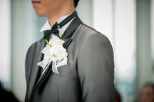 チャペルの新郎 結婚...