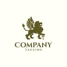 Lion Key Logo