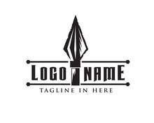 Classic Spear Logo Design Inspiration
