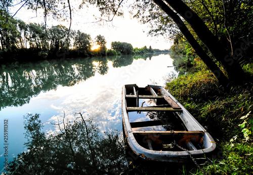 Poster Rivière de la forêt Wild Brenta River