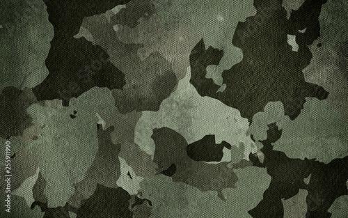 Camouflage pattern cloth texture Fototapet