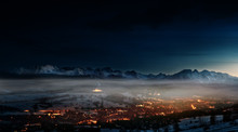 Beautiful View Of Zakopane And...