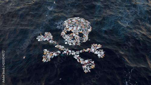 Fototapety, obrazy: contaminación oceano