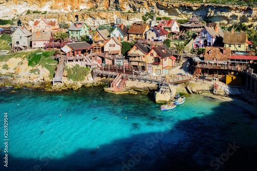 Cadres-photo bureau Cote Popeye Village at Anchor Bay, Malta