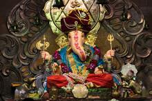 Babu Genu Ganpati, Pune, Maharashtra, India.