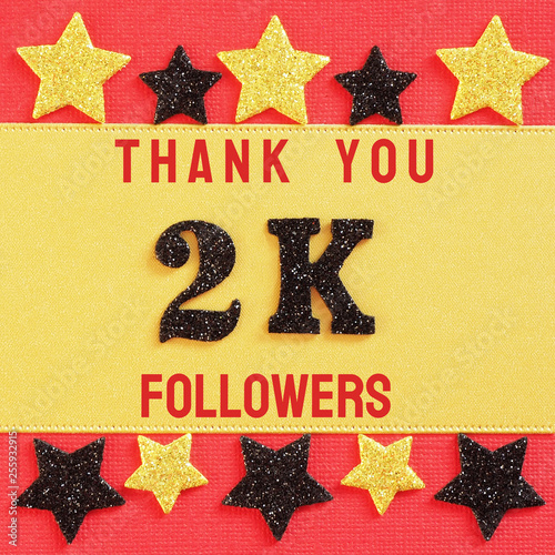 Fotografia  Thanks 2000, 2K followers
