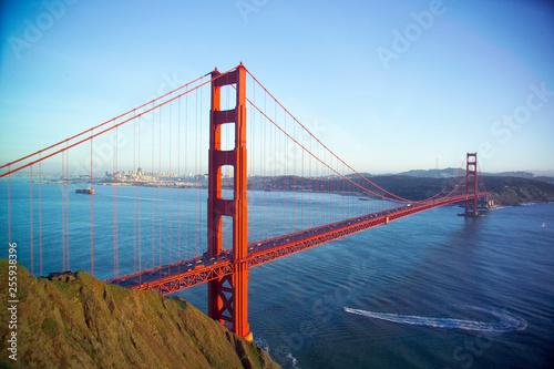 Photo sur Toile San Francisco Golden Gate Bridge