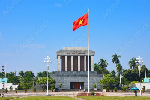 Obraz na plátně The Ho Chi Minh Mausoleum