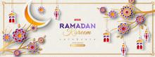 Ramadan Kareem Horizontal Banner