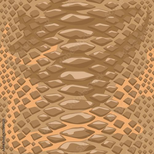 Photo  Snake skin seamless background
