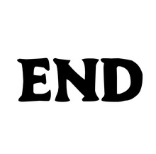 End Stamp On White