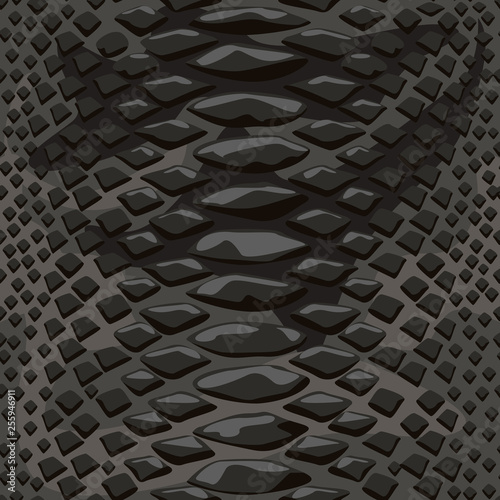 Photo  Snake skin seamless background